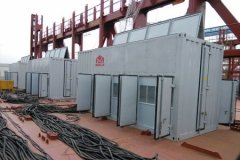 AC10.5KV/6.6KV-20000KVA Dry Type Load Bank For Dalian Shipbu